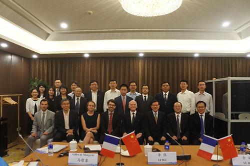 """""""中法圆桌研讨会2018:可持续发展与能源转型"""" 在上海召开"""