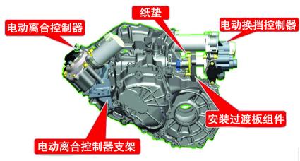 长城炫丽车机械式自动变速器故障诊断